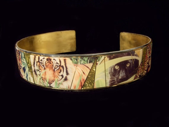 Tiger, Cheetah, Leapord Wraparound Belt