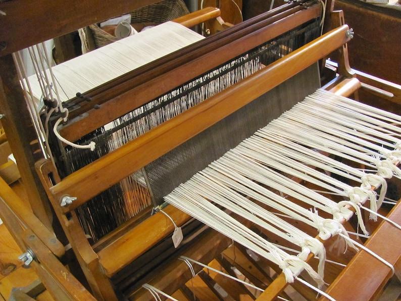 Floor Loom Weaving Tutorial Beginner Handweaving Looms Set Up image 0
