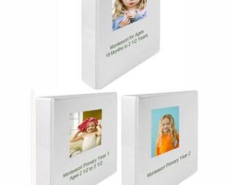 Montessori Curriculum For Toddlers Prek Primary School Set Etsy