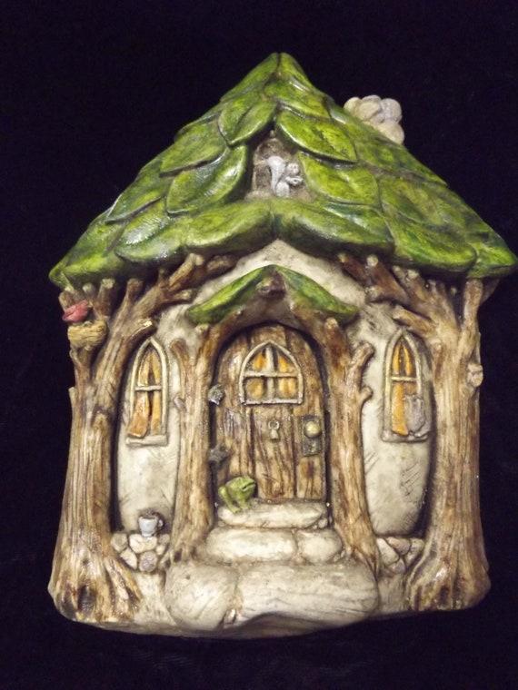 Fine Fairy Tree House Door Plaque Gothic Fairie Fantasy Elf Larp Wicca Elven Pixie Fae Woodland Wall Hanging Patio Yard Art Home Garden Decor Download Free Architecture Designs Scobabritishbridgeorg