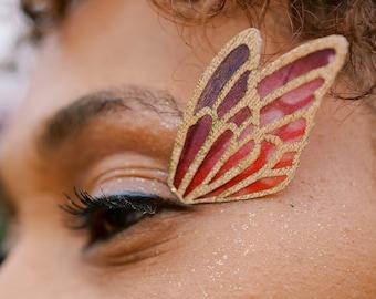 Fabric False Fairy Eyelashes - Fairy Costume - Renaissance Costume - LARP Costume Cosplay -
