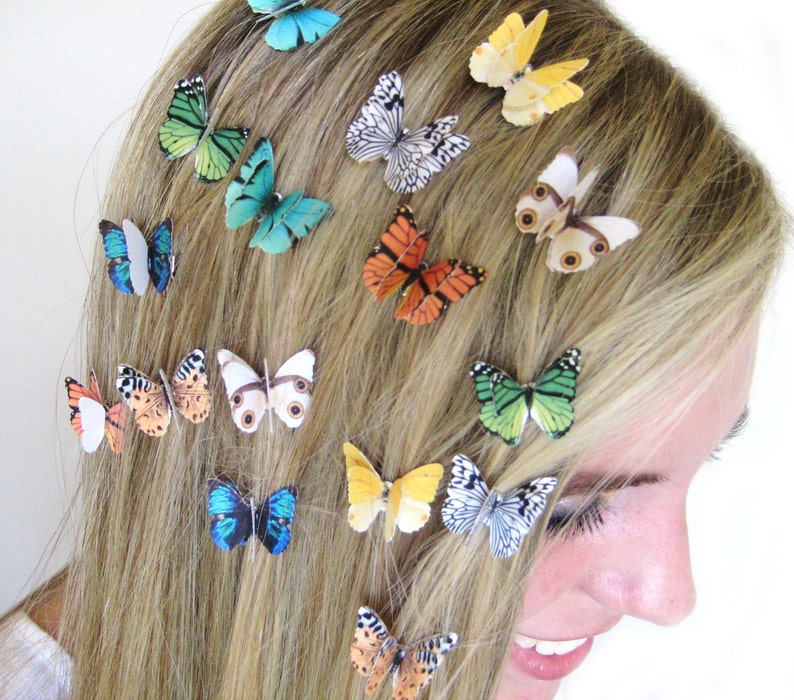 Set of 3 Butterfly Hair Clips  Hair Accessories For Women  image 0