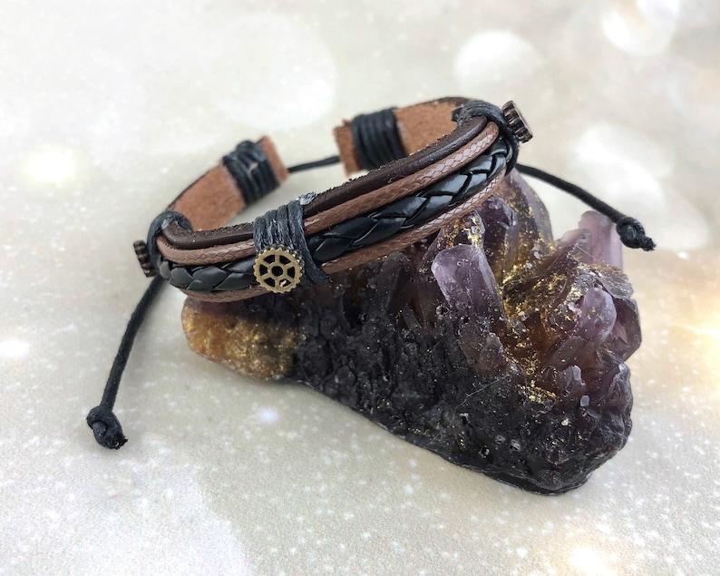 Post Apocalyptic Steampunk Bracelet For Men Women  Costume image 0