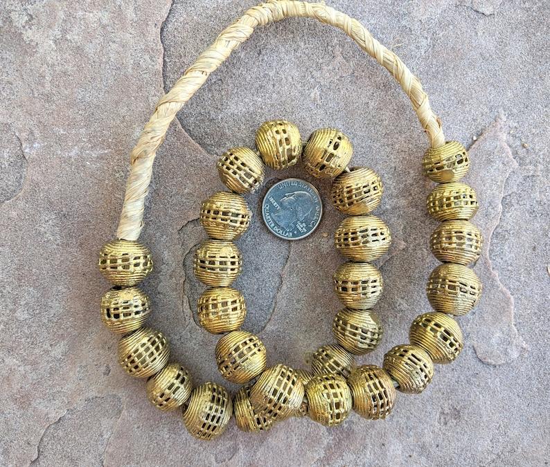 20mm Tabular BrassCopper Beads