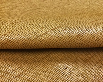 Pattern # A0017C Wheat Brown Solid Woven Chenille Upholstery And Window Treatments Fabric By The Yard