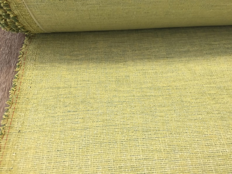 FREE US SHIP 56 Wide Chartreuse Green Mid Century Modern Pattern Fabric for Upholstery Benches Chairs Headboard