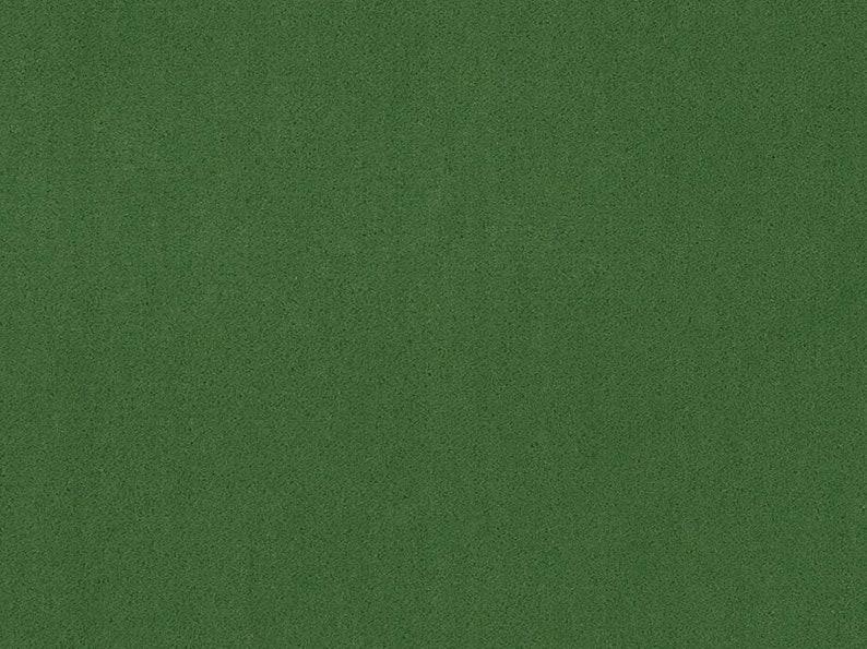 Heavy Duty Woven MCM Mid Century Modern Moss Green Faux Mohair Velvet Upholstery Fabric 20950-15