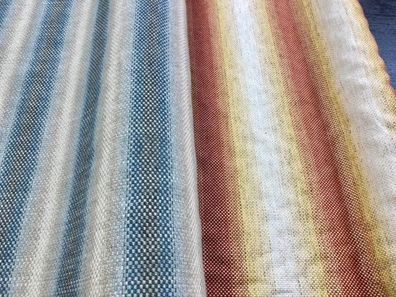 Cowtan /& Tout Jane Churchill Upholstery Umbra Fabric Blue Red Yellow STA