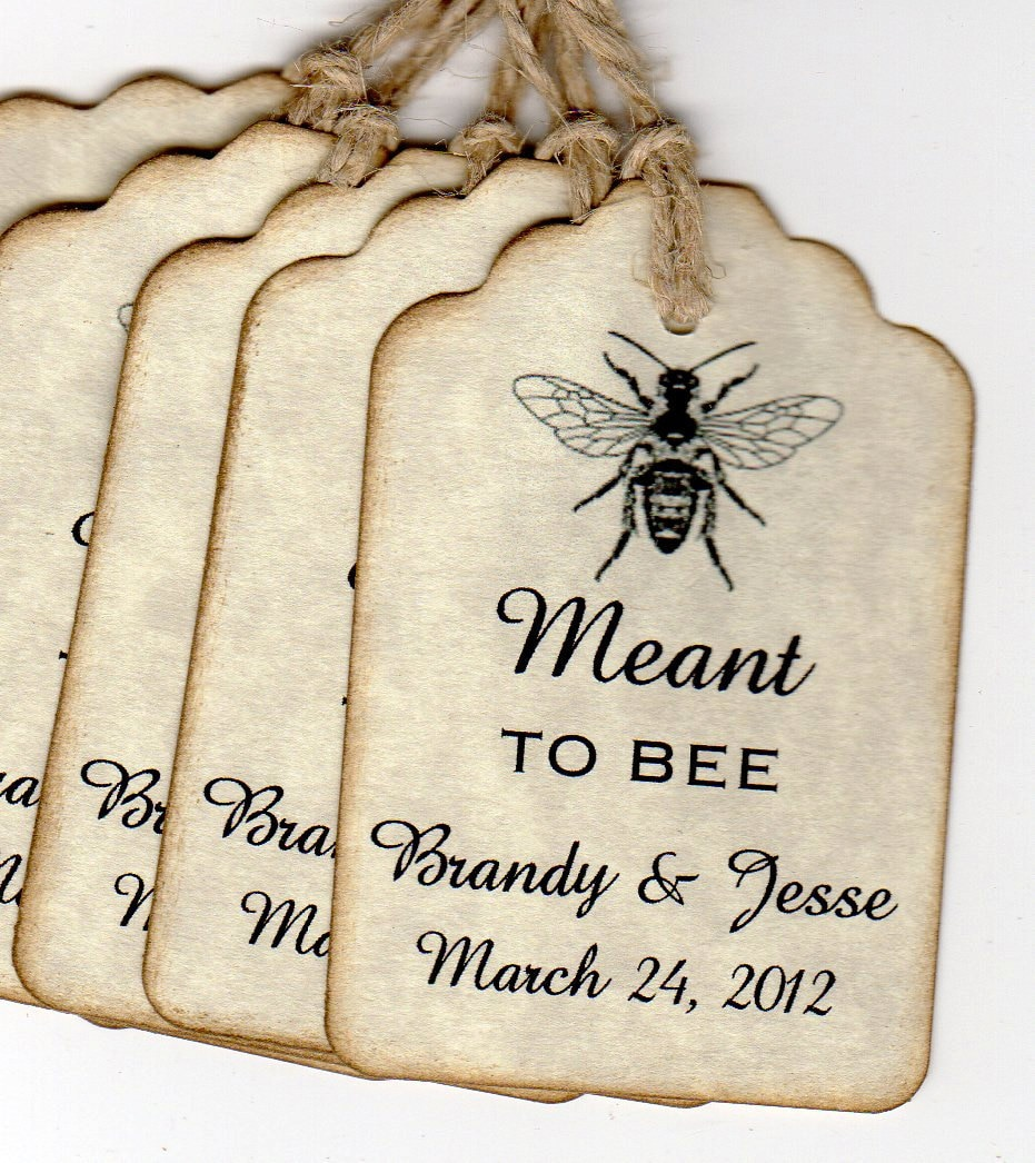 Old Fashioned Honey Bee Wedding Favors Model - The Wedding Ideas ...