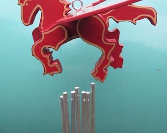 Pegasus Wind Chime