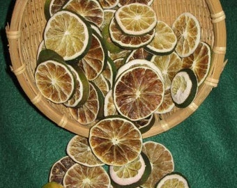 3 oz. of Dried Lime Slices