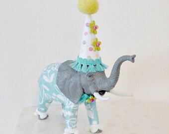 Elmer the Elephant Cake Topper
