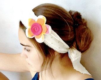 Fabric Flower Fun