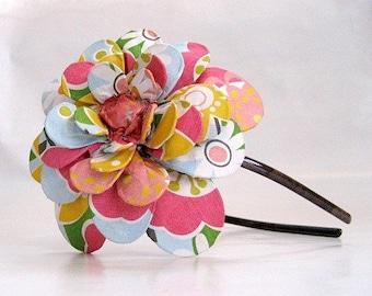 Daisy Garden Paper Mache Headband