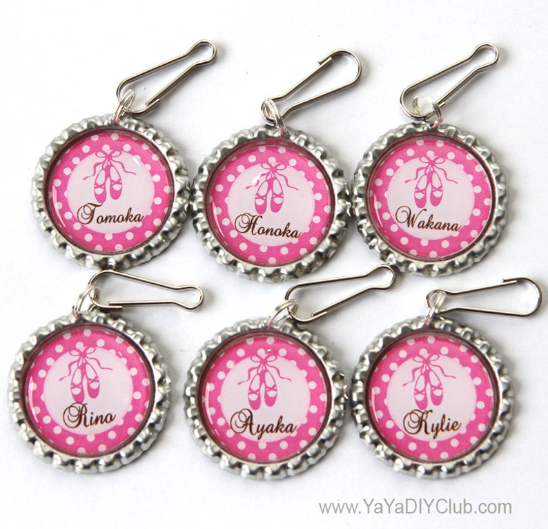 Ballerina Party Favors Ballerina Birthday Party Favors Pink image 0