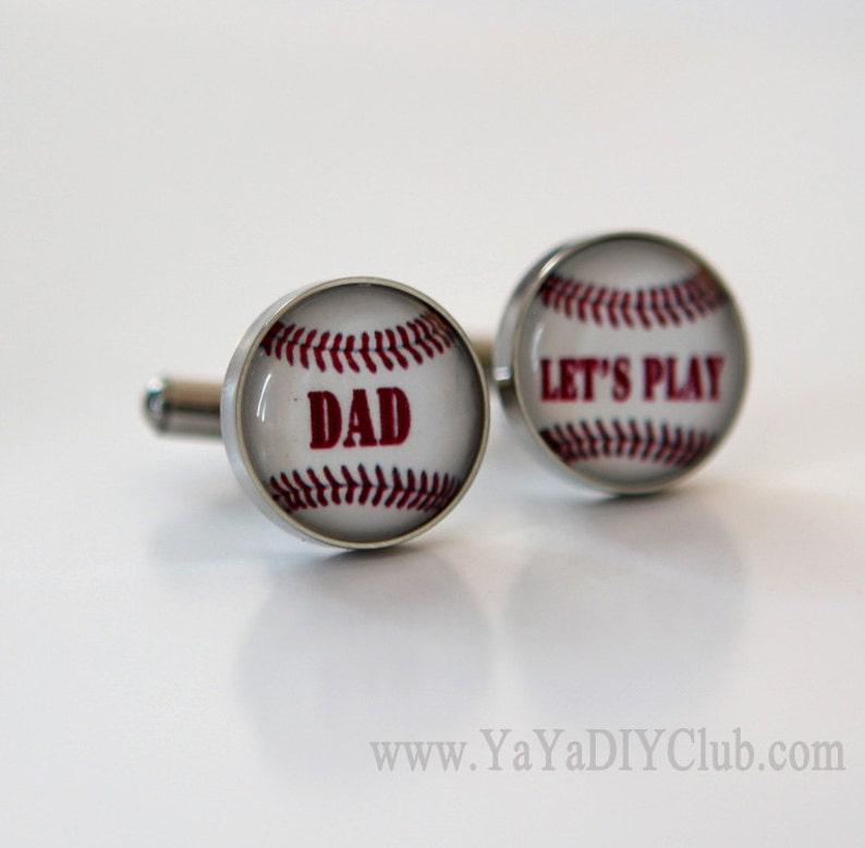Christmas Gift for Dad from son Baseball dad Baseball image 0