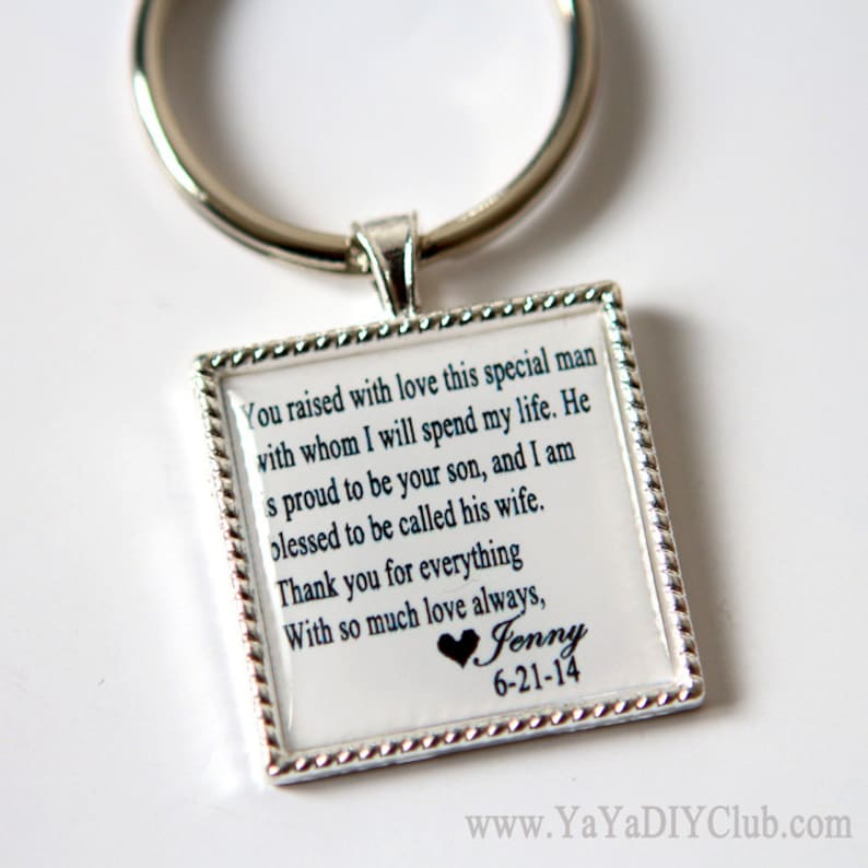 wedding keepsake gift for father of groom gift father of the image 0
