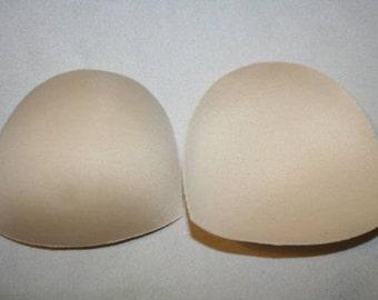 d0394582731a7 1 pair size A B C D Dd nude Foam bra cup shields