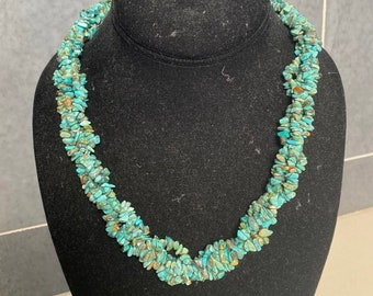 Mine finds Jay King turquoise twist necklace