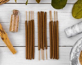 Palo Santo Incense - All Natural Hand Rolled Incense Sticks - Bag of 3, 6 or 12