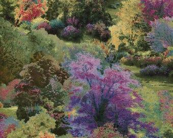 Spring Landscape - David Textiles - Thomas Kinkade - 1 yard - More Available - BTY