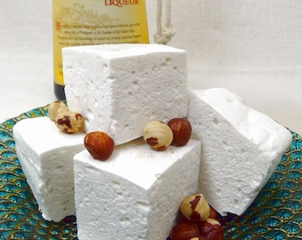 Frangelico Vanilla Bean - French Style Marshmallows - Guimauves - Artisan Upscale Sweets