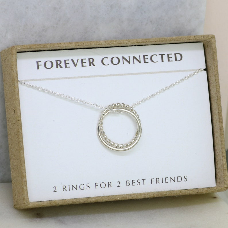 Best Friends Necklace Friendship Gift For