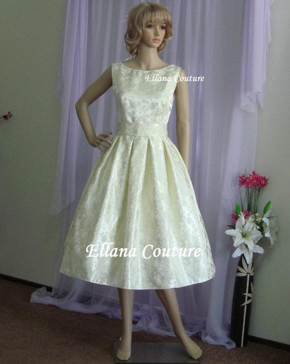 Tea Length Bridal Gowns