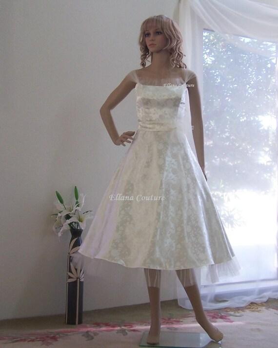 Vintage Wedding Dresses Etsy: Romantic Vintage Inspired Tea