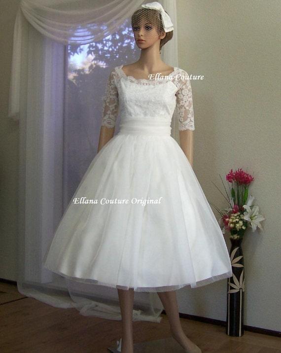 Retro Style Wedding Dresses