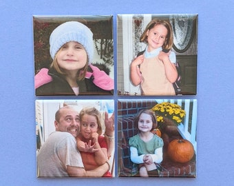 Photo Magnets - Custom 2 Inch Magnets - Your Photos - Custom Magnets
