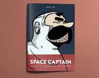 Space Captain: Captain Of Space #1