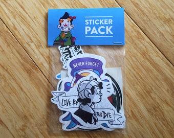 Pack of 10 Random Stickers