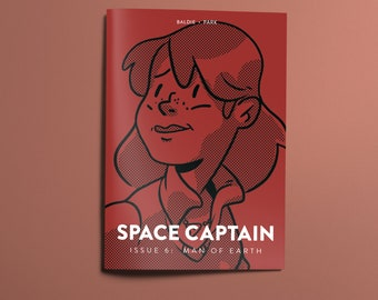 Space Captain: Man Of Earth #6