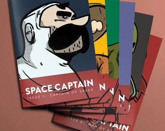 Space Captain: The complete set (6 books)