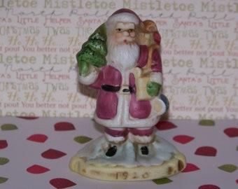 """Vintage 1991 RSVP """"1920"""" Santa Clause Porcelain Figurine Collectible"""