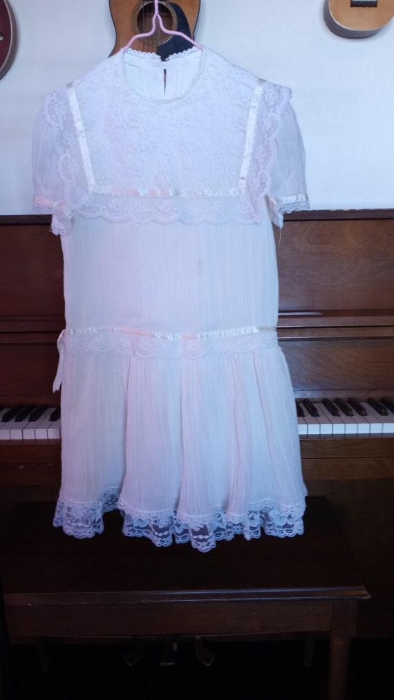 Vintage 1980s Gunne Sax Girls Dress