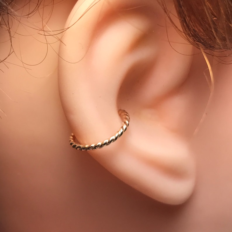 Conch Earring  Helix Hoop Earring  Rook Earring  Septum   image 1