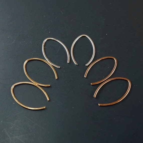 Tiny Earrings - Extra Small  Earrings -  Open Hoop earrings - Tiny Sterling Silver - Child Earrings - Argentium - Gold - Niobium No.00E171