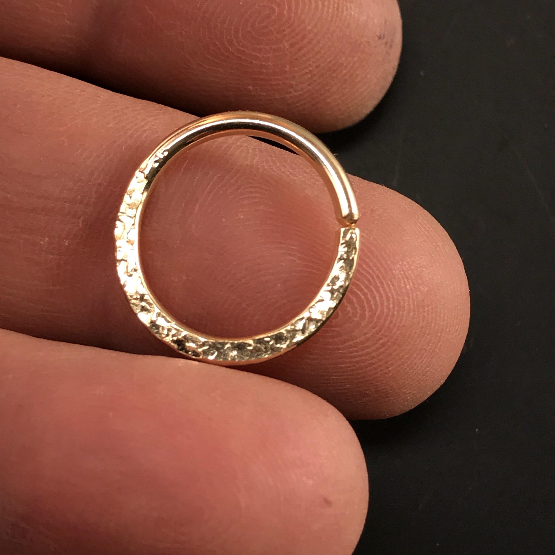 14g Septum Ring 14 Gauge Earring Cartilage Hoop Nipple Ring