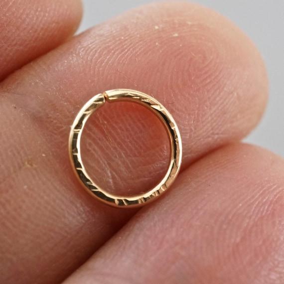Cartilage hoop -  SEPTUM RING  - piercing hoop - endless hoop  - eyebrow - nose - belly button - helix hoop No.00503