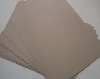Light Kraft Cardstock - 10 sheets
