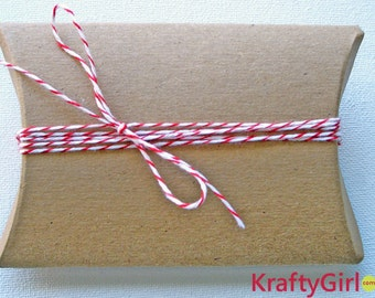Kraft Pillow Boxes - set of 10