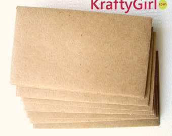 Mini Lunch Bag Kraft Envelope - set of 10