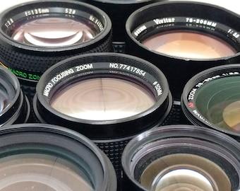 Mystery lens for your film SLR or digital camera. Pentax/Nikon/Canon FD/M42/Minolta/C/D mount