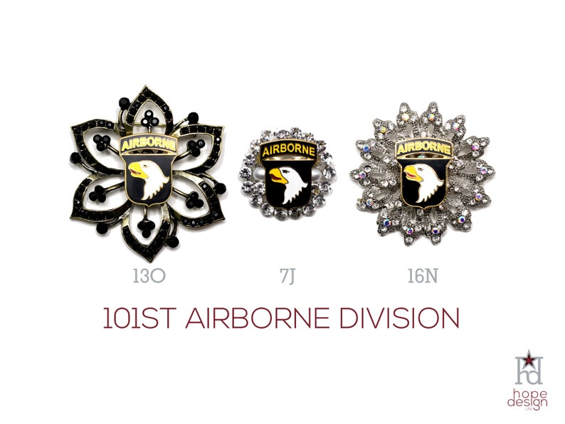101st Airborne Division Brooch US Army 101AD Jewelry  8fcad02d4