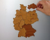 SALE - Germany Magnetic Map Puzzle - 50% Off