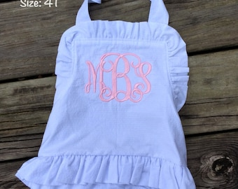 READY TO SHIP Baby Girl one piece handmade swimsuit