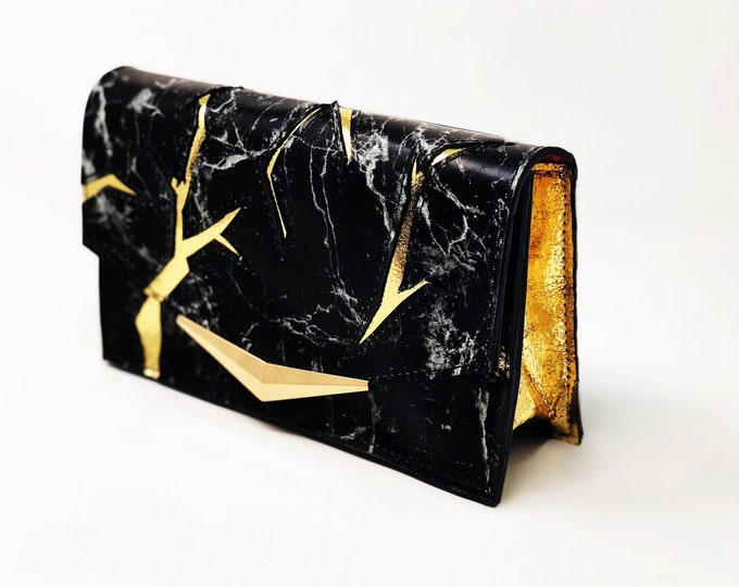 Featured listing image: Kintsugi Crossbody/Clutch