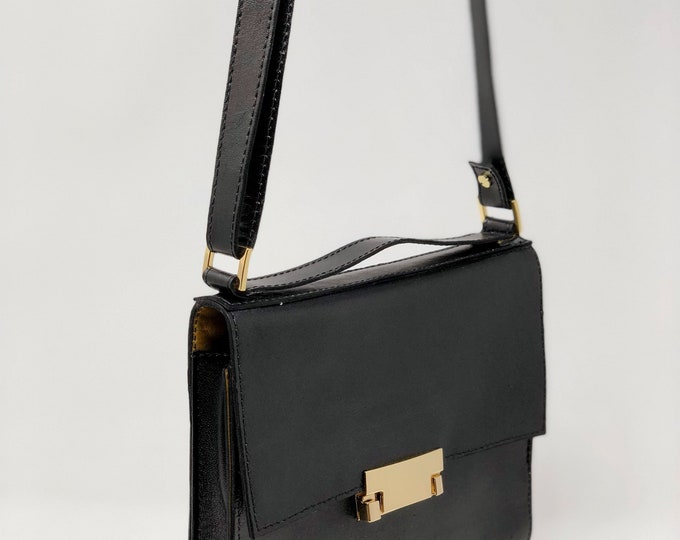 Featured listing image: Black and Gold Shoulderbag